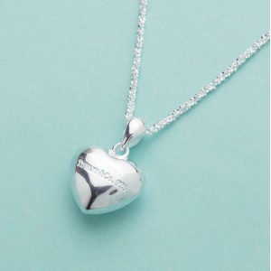 Meghan Stout Heart 925 Sterling Silver Necklace by Argento