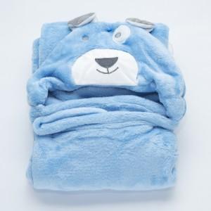 Blue Bear Towel
