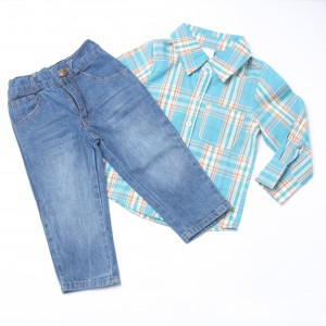 SWAGGER #02 Polo and Jeans Set