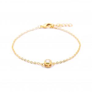 Brea 18k Gold Plated Bracelet