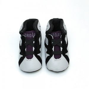 Bordeaux Pre-walker Shoes 3