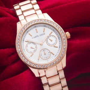 Centuria Carpe Diem Watch (Rose Gold)