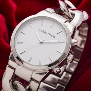 Rapunzel Silver Watch by Carpe Diem