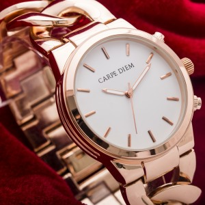 Rapunzel Rosegold Watch by CarpeDiem