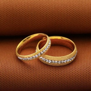 Beautiful Couple Ring (Men, Gold)
