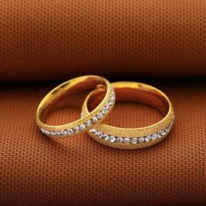 Beautiful Couple Ring Gold (Women)