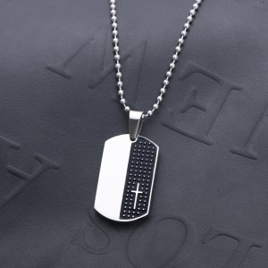 Moses Dogtag Necklace