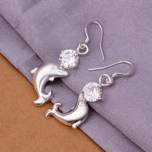 Darby Dolphin Dangling Earrings