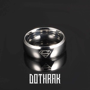 Superman Silver Ring