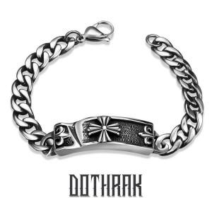 Calvary 316 Stainless Steel Bracelet by Dothrak