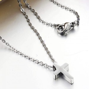 Tomas Necklace with Cross Pendant