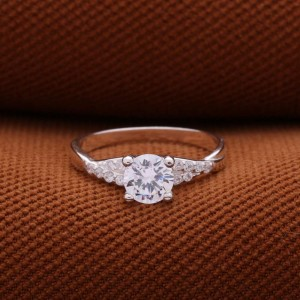 Majestic Engagement 925 Silver Ring