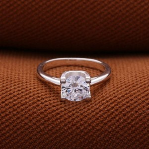 Daphne Engagement 925 Silver Ring Size 7.5 (Clearance Sale SRP 550)