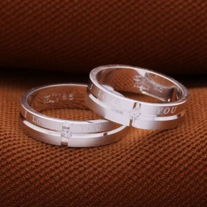 True Love Couple Ring