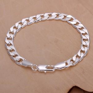 Jordan 925 Silver Plated Men's Bracelet