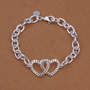 Felicity Double Heart Bracelet