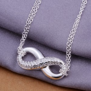 Infinity Double Chain Necklace