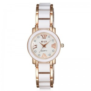 London Watch (Dual Tone, Rose Gold and White)