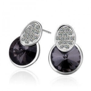 Alberta Platinum Plated Earrings..