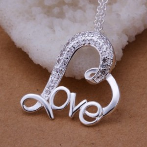 Aleah Love 925 Silver Plated Necklace