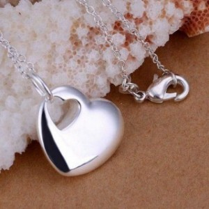 Alyssa 925 Silver Plated Necklace