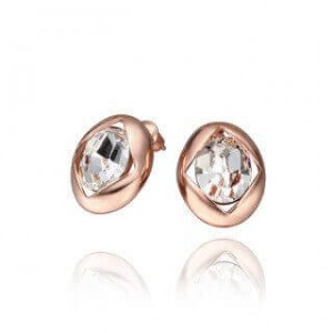 Coleen Rose Gold Plated Earrings