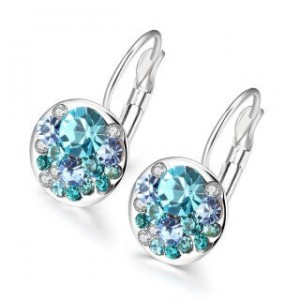 Eilene Blue Hook Earrings