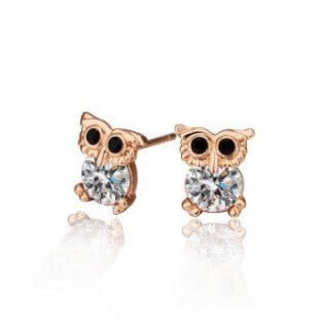 Eula Owl Earrings