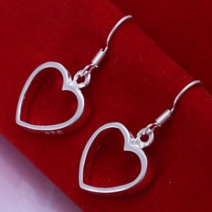 Harlene Heart Dangling Earrings