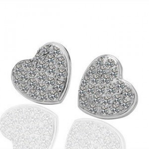 Isabelle Heart Earrings
