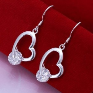 Janaiah Heart Dangling Earrings