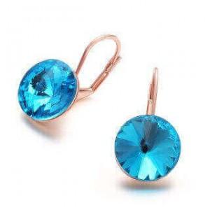 Jodiel Blue Hook Earrings
