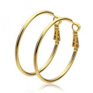 Penelope 18K Gold Plated Hoop Earrings