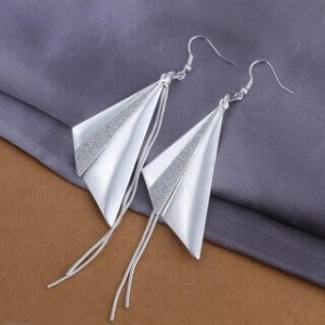 Triangles Dangling Earrings