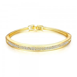 Gretchen 18K Gold Plated Bangle
