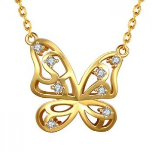 Savannah Butterfly Necklace