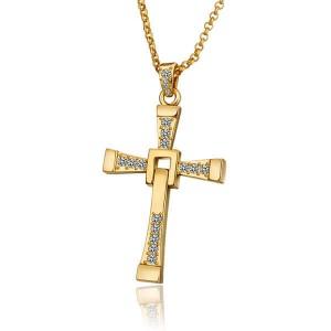 Vin Diesel Elegant Cross Necklace