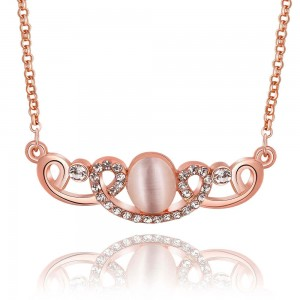 Carly Rose Gold Plated Necklace