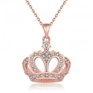 Leticia Crown Necklace