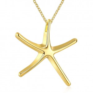 Proxima Star 18K Gold Plated Necklace