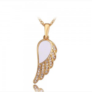 Skyler Wing 18K Gold Plated Necklace
