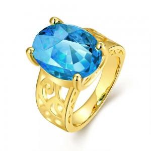 Aqua Blue Ring