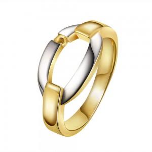 Gabrielle Dual-Tone Ring