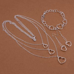 Magdalena 925 Silver Plated Set