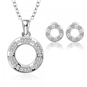 Odessa 925 Silver Plated Set