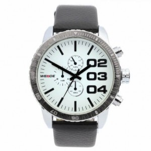 Spencer Leather Watch by Weide