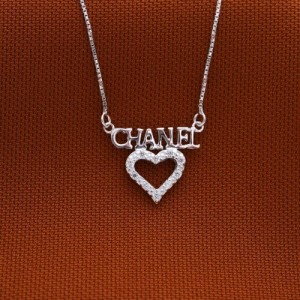 Charms of Chanel Heart Necklace