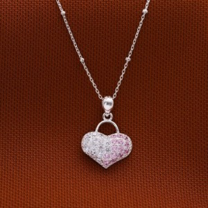 Cindy Heart Bag Necklace