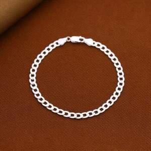 Crixus 925 Silver Bracelet for Men 5mm