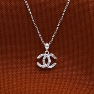 Francheska Chanel 925 Silver Necklace
